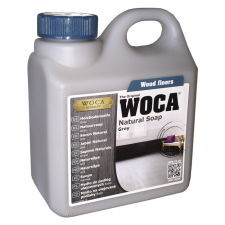 WOCA Naturseife, grau 1,0 Liter